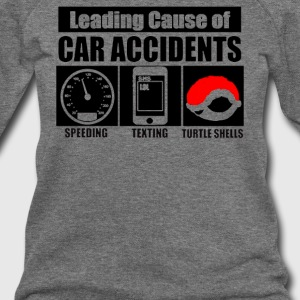 Leading Cause Of Accidents - Women's Wideneck Sweatshirt