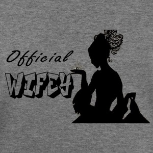 Official Wifey - Women's Wideneck Sweatshirt