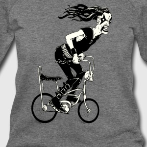 Metal to the Pedal - Women's Wideneck Sweatshirt