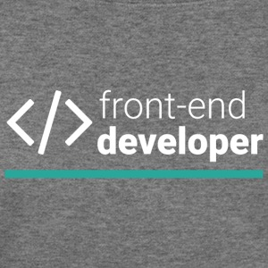 Front End Developer T Shirt - Women's Wideneck Sweatshirt