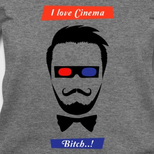 i love cinema... - Women's Wideneck Sweatshirt