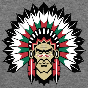 indians indian geronimo apache lakota - Women's Wideneck Sweatshirt