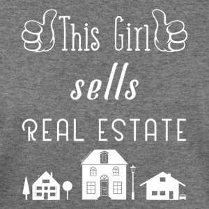 This Girl Sells Real Estate for Property Managers - Women's Wideneck Sweatshirt