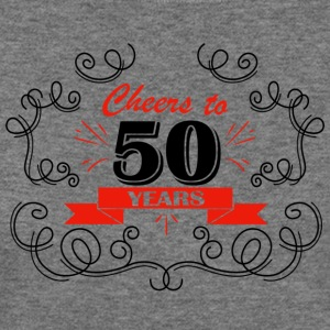 Cheers to 50 years - Women's Wideneck Sweatshirt