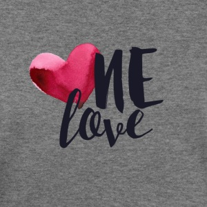 ONE LOVE - Women's Wideneck Sweatshirt