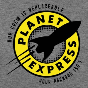 Planet Express - Women's Wideneck Sweatshirt
