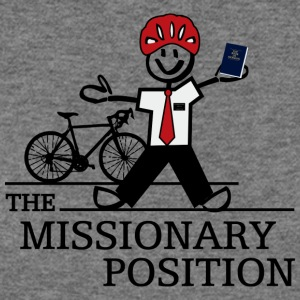 The Missionary Position (Light) - Women's Wideneck Sweatshirt