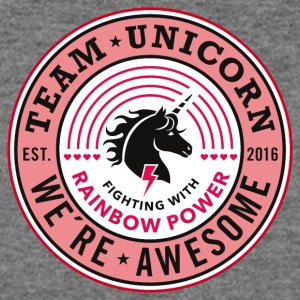 Team Unicorn - Women's Wideneck Sweatshirt