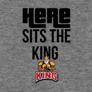 Here sits the KING - Women's Wideneck Sweatshirt