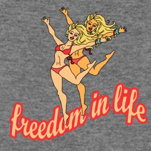 freedom in life - Women's Wideneck Sweatshirt