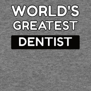 worlds greatest dentist - Women's Wideneck Sweatshirt