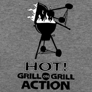 Hot Grill on grill action - Women's Wideneck Sweatshirt
