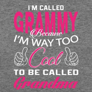 I'M CALLED GRAMMY - Women's Wideneck Sweatshirt