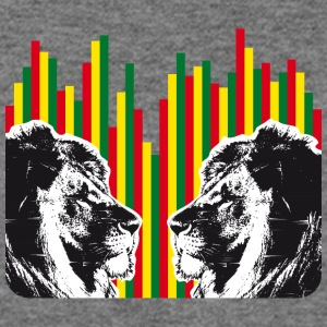 Reggae lions, lions of judah - Women's Wideneck Sweatshirt