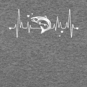 Salmon Heart Shirt - Women's Wideneck Sweatshirt