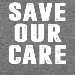 Save Our Care - Women's Wideneck Sweatshirt