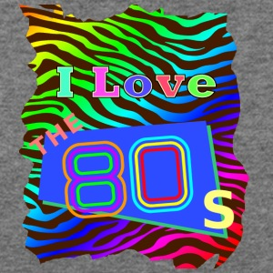 I love the 80s 001 - Women's Wideneck Sweatshirt