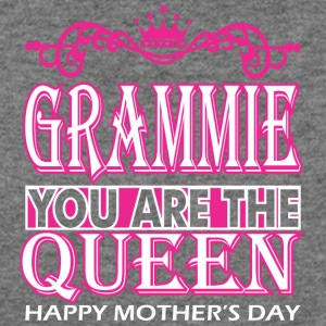 Grammie You Are The Queen Happy Mothers Day - Women's Wideneck Sweatshirt