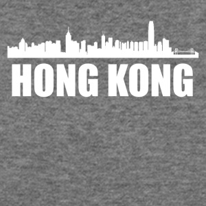 Hong Kong Skyline - Women's Wideneck Sweatshirt