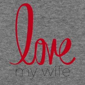love my wife - Women's Wideneck Sweatshirt