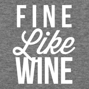 Fine Like Wine - Women's Wideneck Sweatshirt
