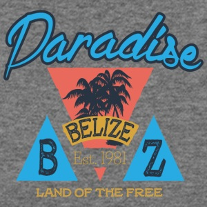 Paradise Belize - Women's Wideneck Sweatshirt
