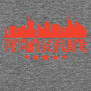 Retro Frankfurt Skyline - Women's Wideneck Sweatshirt