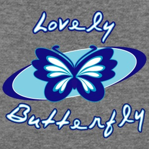 Lovely butterfly - Women's Wideneck Sweatshirt