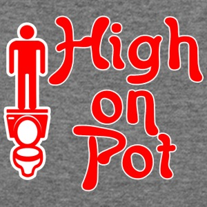 High on pot - Women's Wideneck Sweatshirt