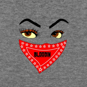 FEMALE BLOODIN FACE AND BANDANA - Women's Wideneck Sweatshirt