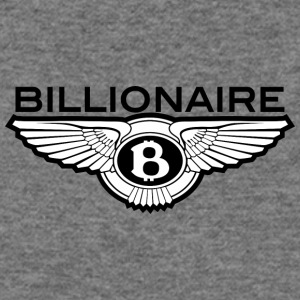 Billionaire - B Design (Black) - Women's Wideneck Sweatshirt
