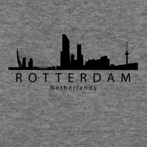 Rotterdam Netherlands Skyline - Women's Wideneck Sweatshirt