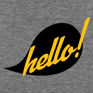 Hello - Women's Wideneck Sweatshirt