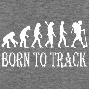 Born To Track Tracking - Women's Wideneck Sweatshirt