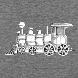steam train - Women's Wideneck Sweatshirt