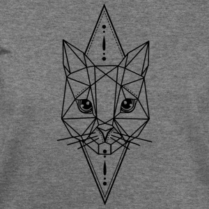 Cat Geometric - Women's Wideneck Sweatshirt