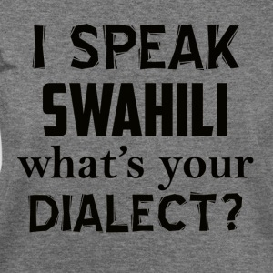 swahili dialect - Women's Wideneck Sweatshirt