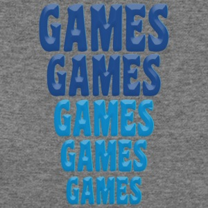 Games Games Games - Women's Wideneck Sweatshirt