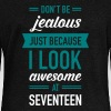Awesome At Seventeen - Women's Wideneck Sweatshirt
