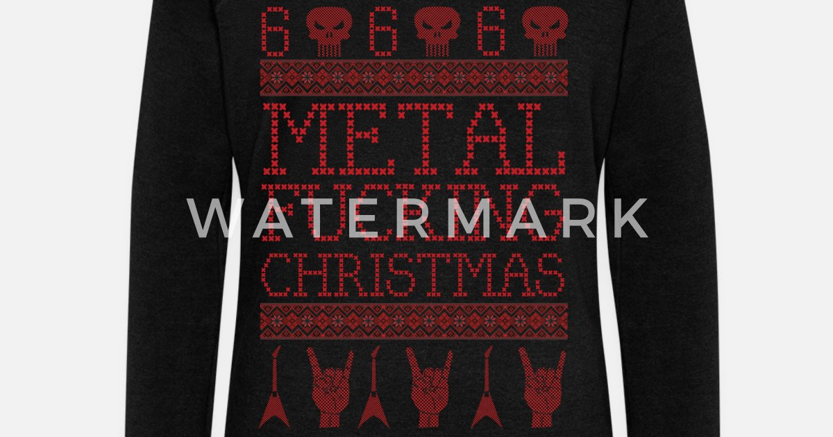 metal fucking christmas ugly xmas sweater style by t73designs spreadshirt - Heavy Metal Ugly Christmas Sweaters