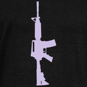 AR-15 rifle - Women's Wideneck Sweatshirt