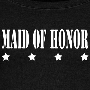 MAID OF HONOR - Women's Wideneck Sweatshirt