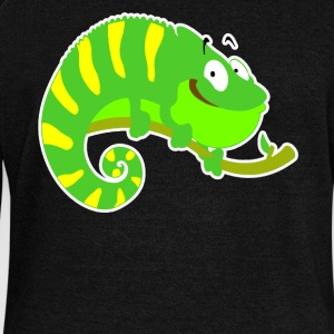 Iguana Tee Shirt - Women's Wideneck Sweatshirt