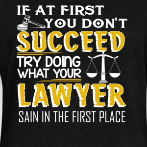 Lawyer T shirt - Women's Wideneck Sweatshirt