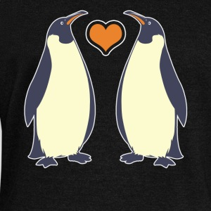 Penguins Tee Shirt - Women's Wideneck Sweatshirt