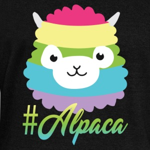Alpaca Tee Shirt - Women's Wideneck Sweatshirt
