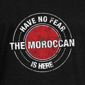Have No Fear The Moroccan Is Here Shirt - Women's Wideneck Sweatshirt