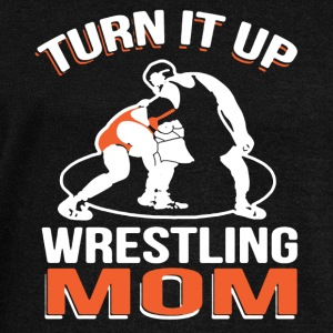 Wrestling Mom Shirt - Women's Wideneck Sweatshirt