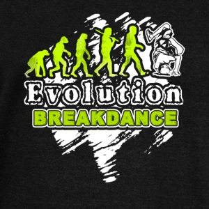 Break Dance Shirt - Break Dance Evolution T Shirt - Women's Wideneck Sweatshirt