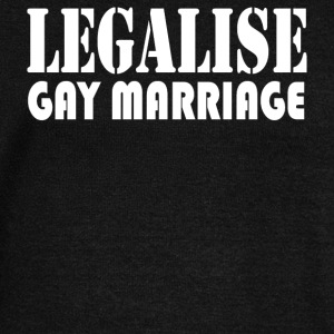 LEGALISE GAY MARRIAGE - Women's Wideneck Sweatshirt